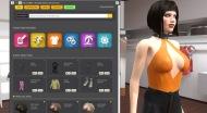 3D model designer in date porn game