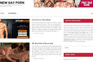 Gay games at newgayporn.net