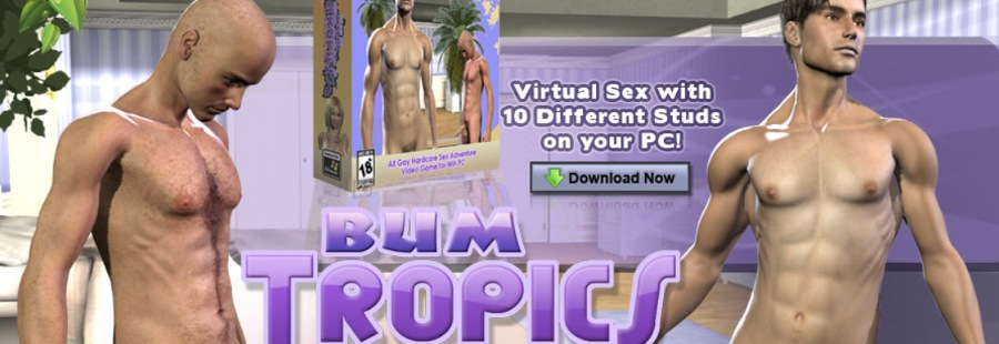 3D gay porn simulation by Bum Tropics to download