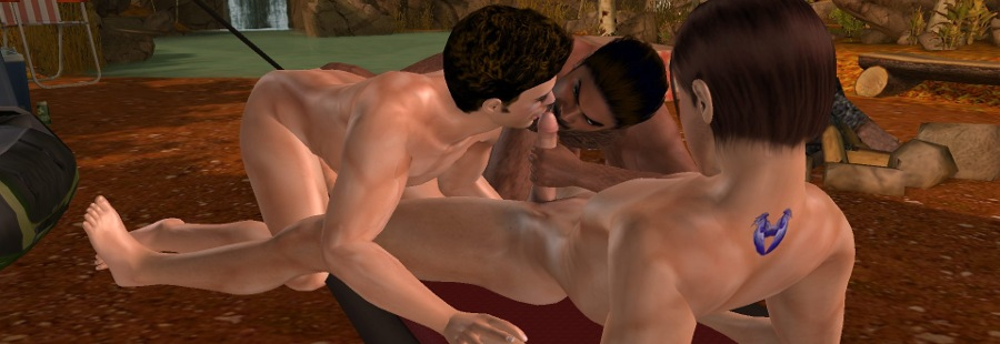 3D Gay Villa 2 video gay sex game free download